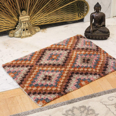 Carpets Small Geometric Tibetan Meditation Rug 03 CR065