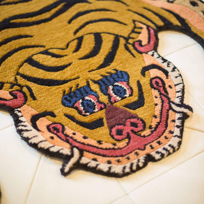 Carpets Small Tibetan Tiger Rug 10 CR059