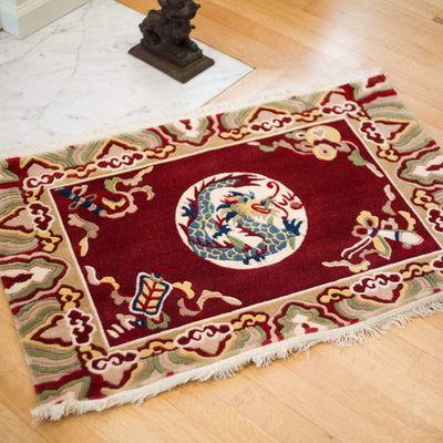 Carpets Strong Tibetan Dragon Carpet CR086