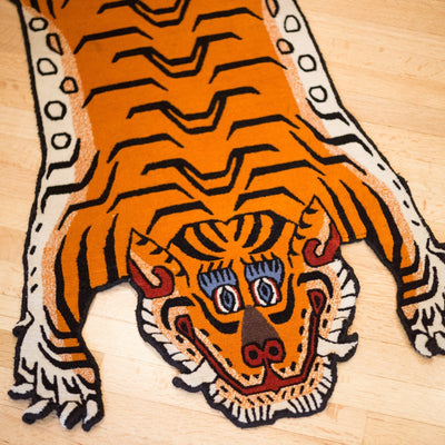Carpets Tibetan Tiger Rug 02 CR051