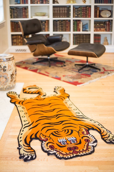 Carpets Tibetan Tiger Rug 06 CR055
