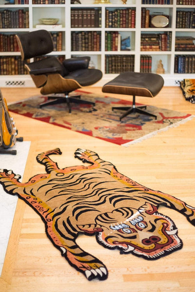 Carpets Tibetan Tiger Rug 07 CR056