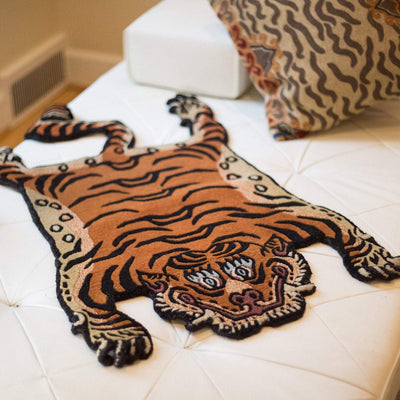 Carpets Tibetan Tiger Rug 09 CR058
