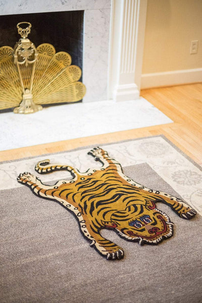Carpets Tibetan Tiger Rug 11 CR060