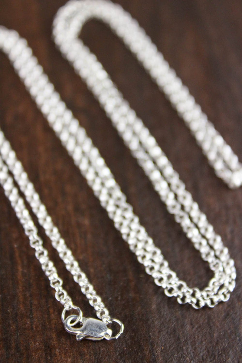 chains Default Sterling Silver Rolo Chain jc002