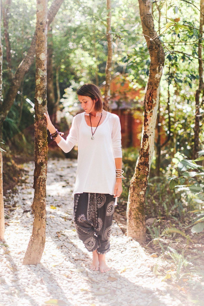 Clothing Default Hand Printed Om Harem Pants From Kathmandu clothing001