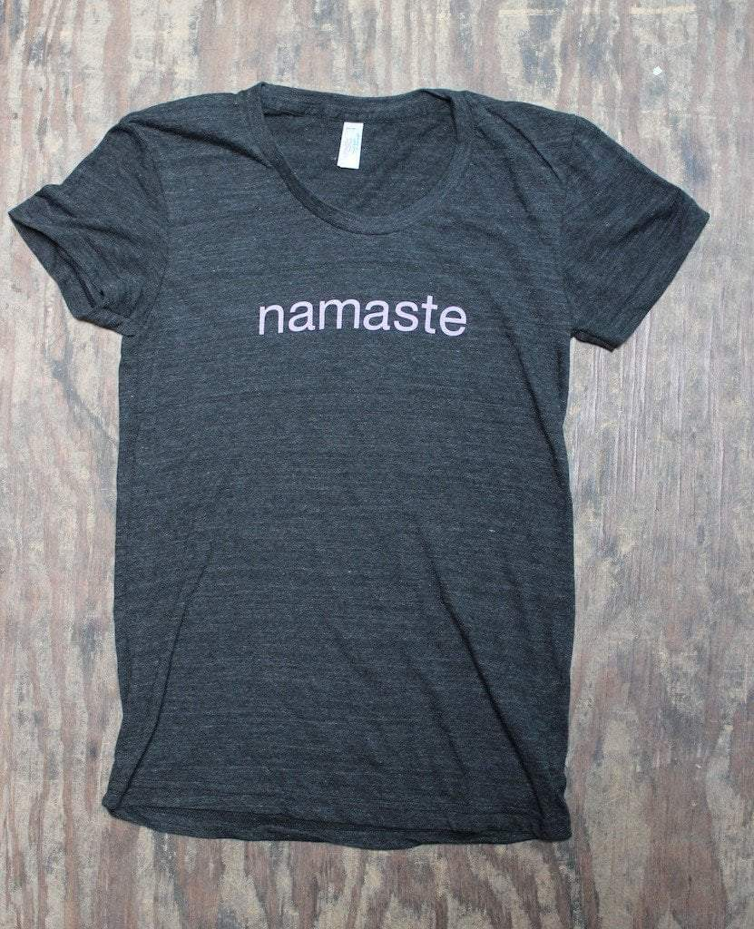 Clothing,New Items Small Women's Cap Sleeve Namaste T-Shirt ts018small