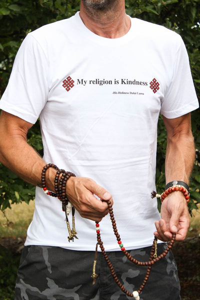 Clothing Small Dalai Lama Kindness Quote T-Shirt TS027.SM