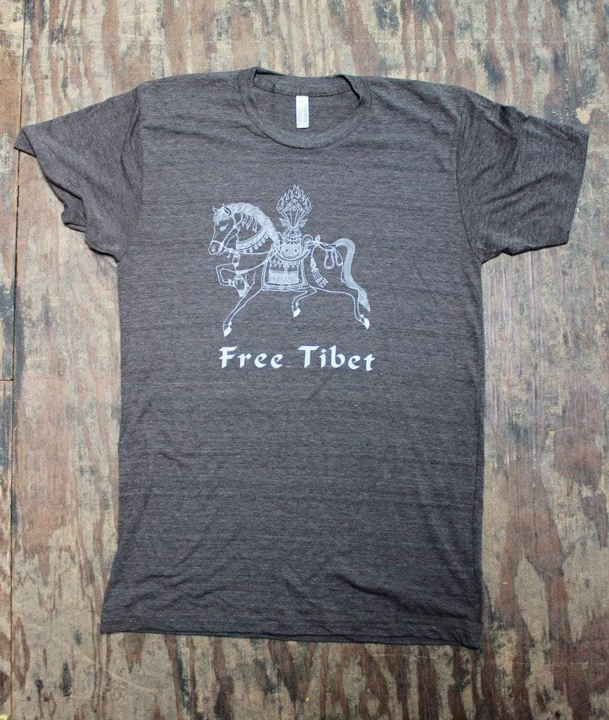 Clothing Small Our New Free Tibet Windhorse T-Shirt ts017small