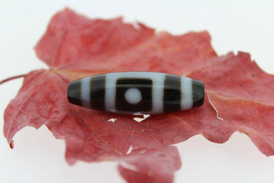Dzi Beads,New Items Default Banded Agate Heaven and Earth Dzi Bead dz041