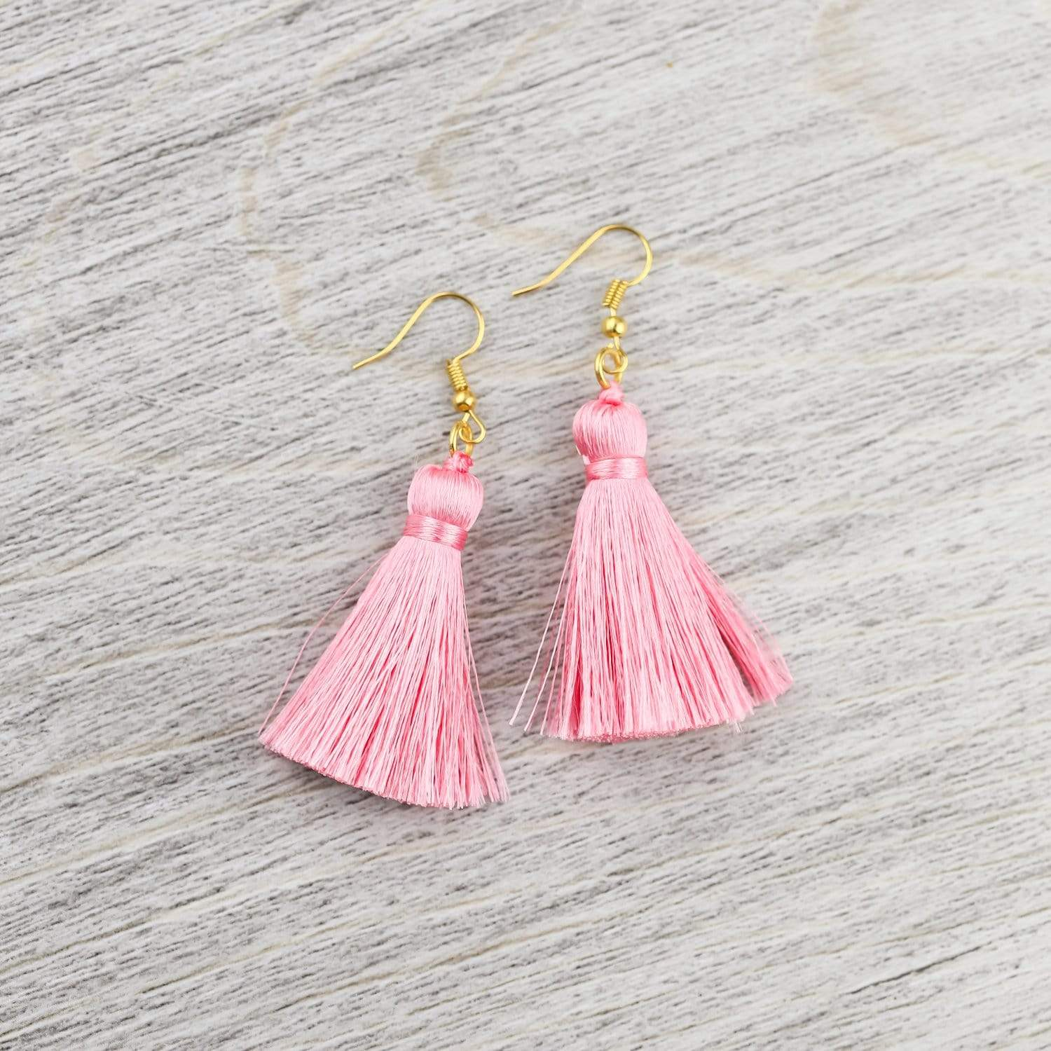 Earrings Colorful Tassel Earrings JE532