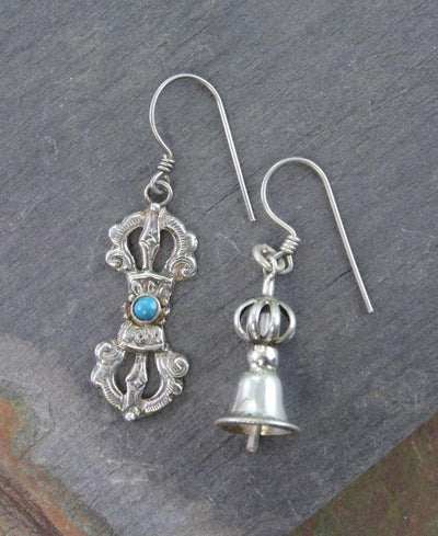 Earrings Default Bell and Dorje Earrings je103