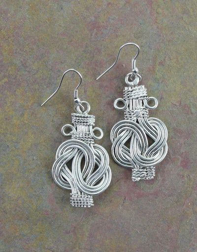 Earrings Default Buddha Knot Earring je091