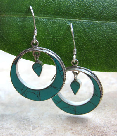 Earrings Default Circle Moon Earrings JE039