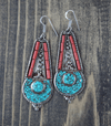 Earrings Default Classic Tibetan Earrings je102