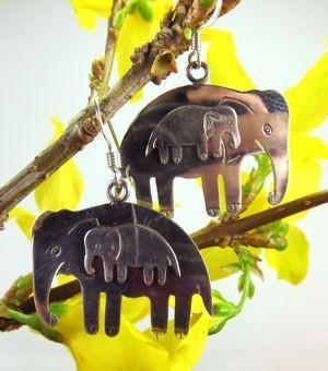 Earrings Default Elephant earrings je001