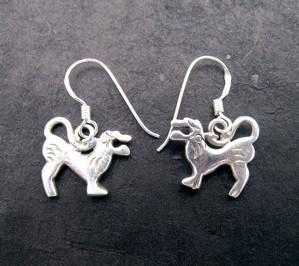 Earrings Default Snowlion Earrings je020