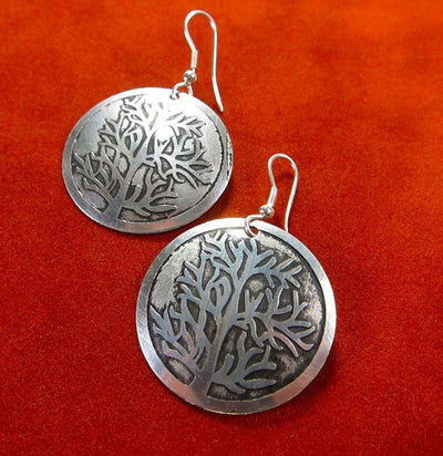 Earrings Default Tree of Life Fair Trade Earrings je005