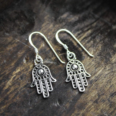 Earrings Hamsa Happiness Earrings JE485