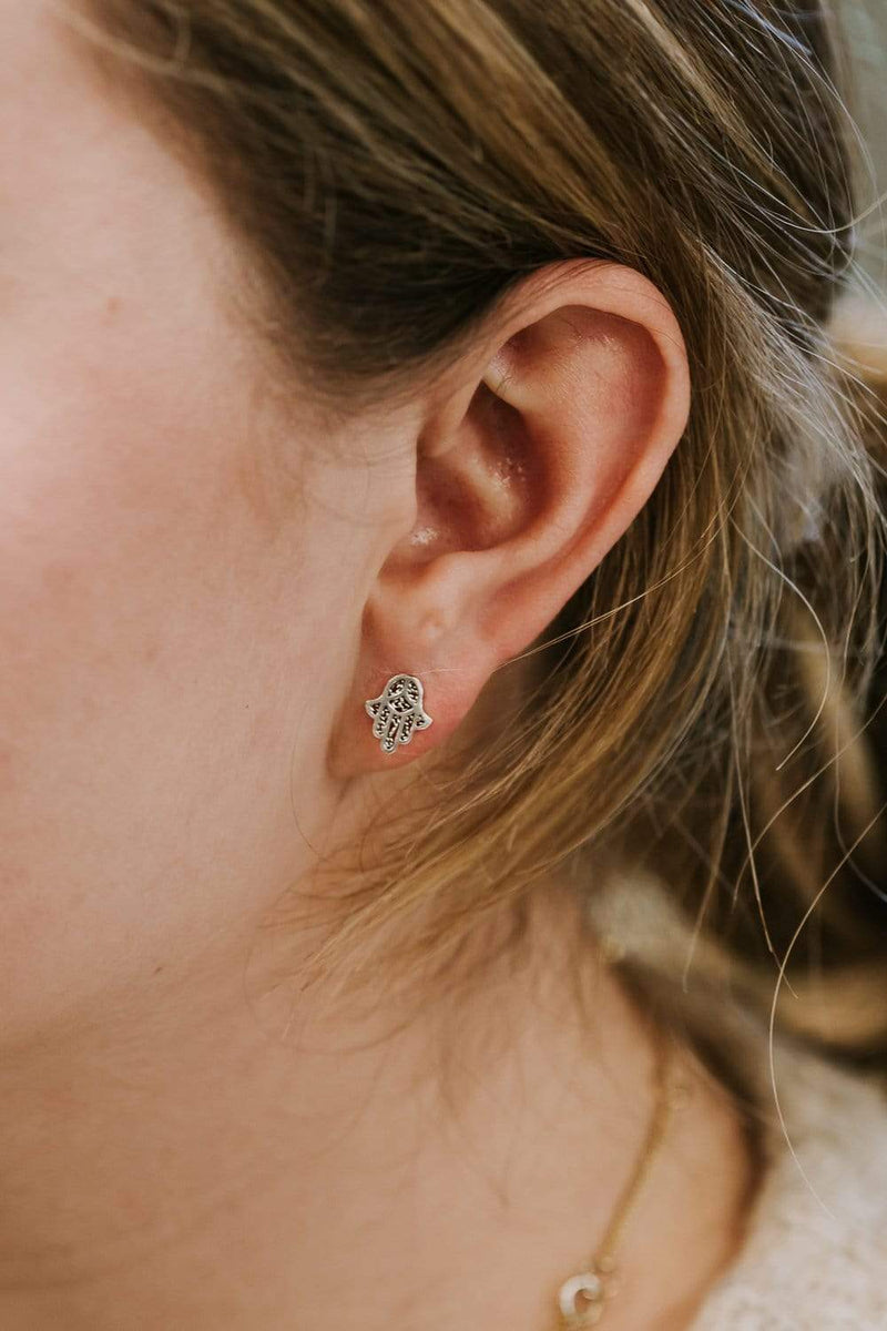 Earrings Hamsa Stud Earrings JE548