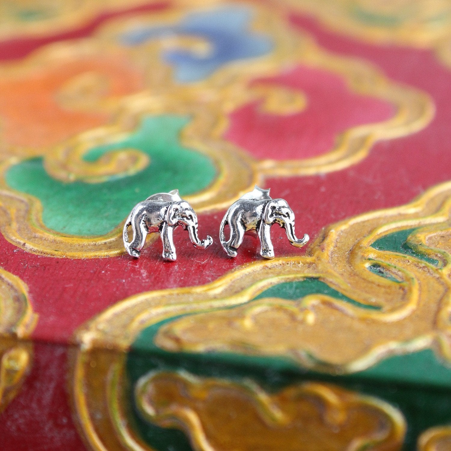 Earrings Happy Elephant Earrings JE506