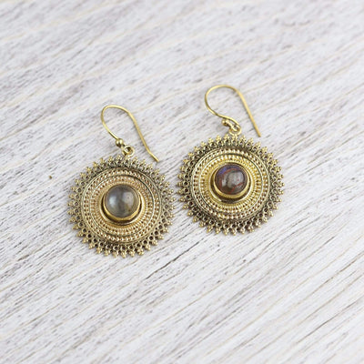 Earrings Labradorite Essence Earrings JE535