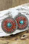 Earrings Radiant Himalayan Sky Earrings JE467