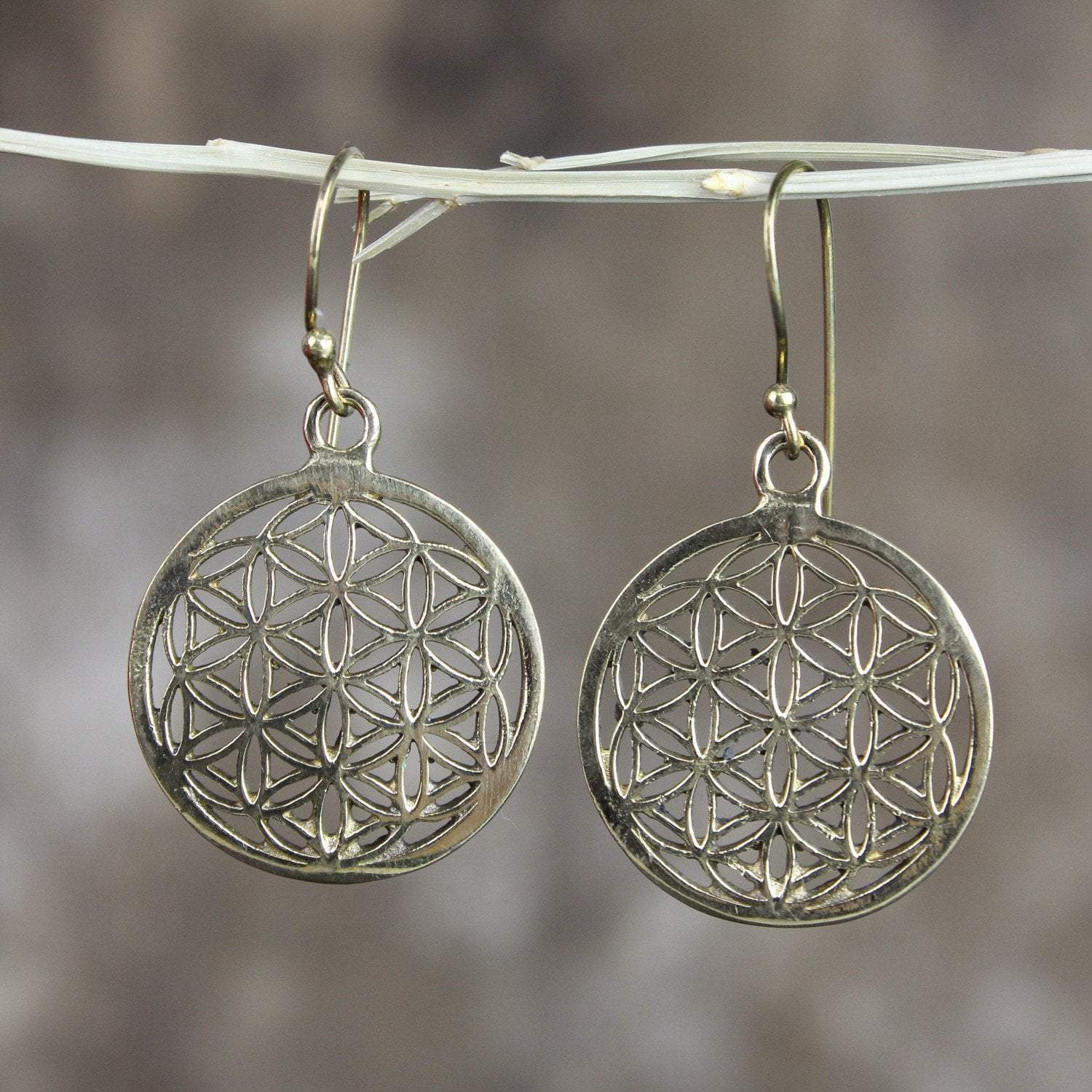 Earrings Sacred Geometry Earrings JE477