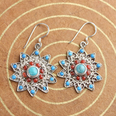 Earrings Sterling Silver Star Earrings JE520