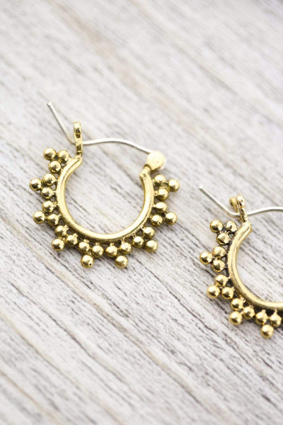 Earrings Sunset Hoop Earrings JE544