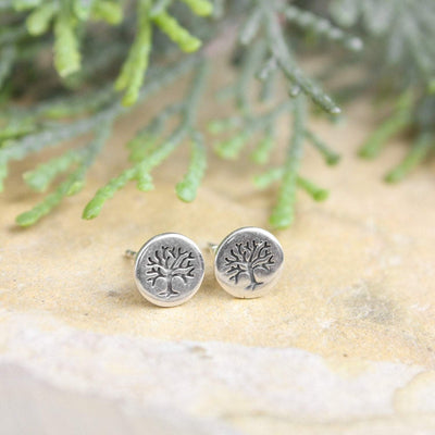 Earrings Tree of Life Post Earrings JE501