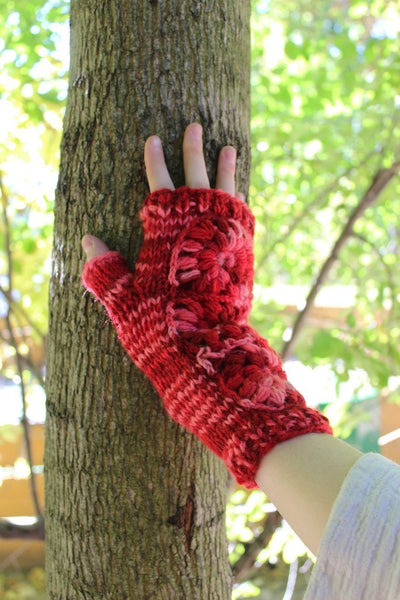 Fabrics,New Items,Gifts,Under 35 Dollars,Holidays,Tibetan Style,Scarves Default Cozy Wool Fingerless Hand Warmers wo009