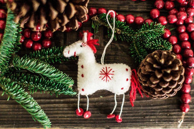 Gifts,New Items,Under 35 Dollars,Holidays Default A Horse Named Snowflake Ornament HO006