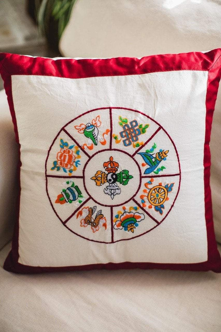 Home Default 8 Auspicious Pillow home001