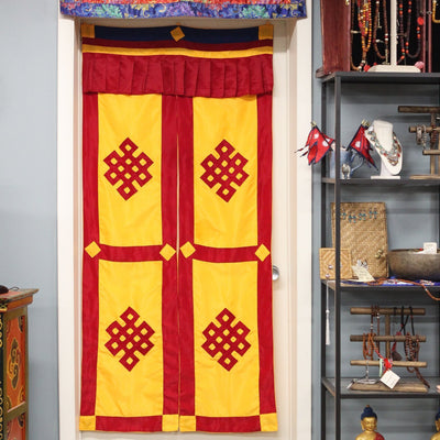 Home Eternal Knot Split Door Curtain FB530