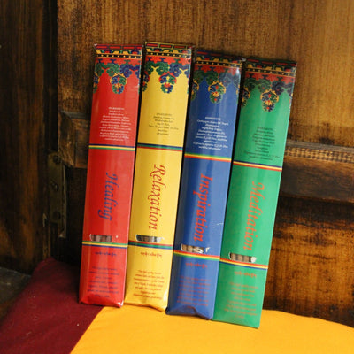 Incense Best Value! Tibetan Essential Incense Set of 4 IN119