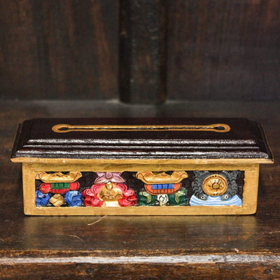 Incense Mini Auspicious Wooden Incense Burner IZ031