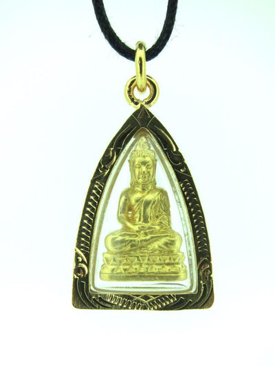 Jewelry,Buddha,The Gold Collection Thai Buddha Gold Pendant jpthai014