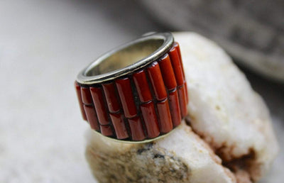 Jewelry,Gifts 8 Bamboo Coral Ring jr04008