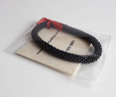Jewelry,Gifts,Under 35 Dollars Default Nepalese Roll-On Bracelet in Black KTM-JB707