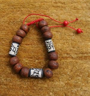 Jewelry,Mala Beads,Om,Men's Jewelry Default Compassion Stone wrist mala wm016