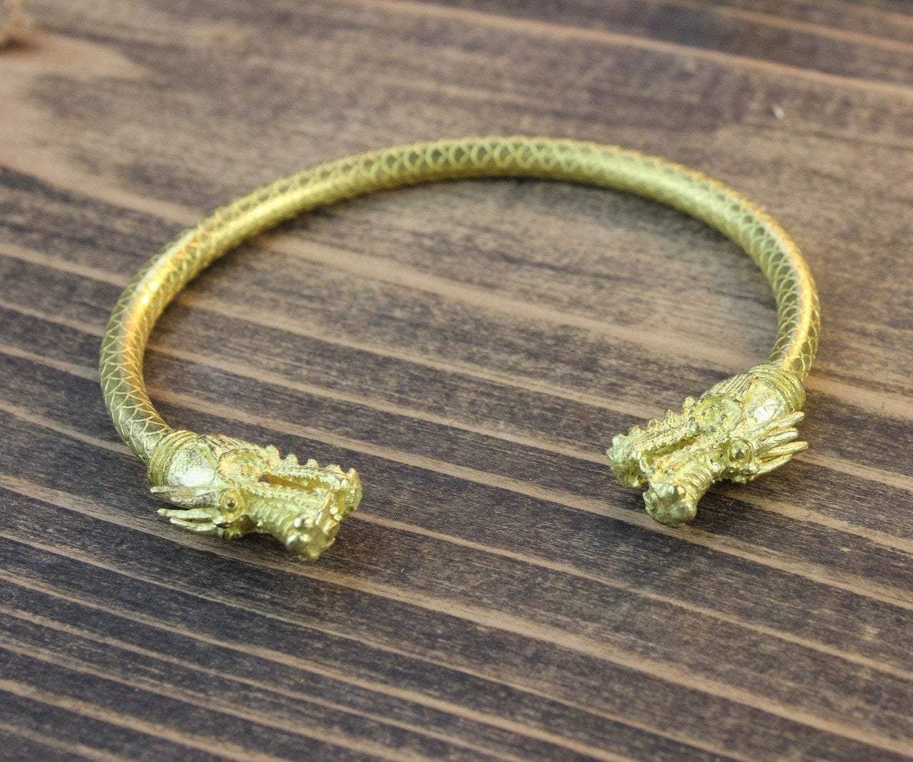Jewelry,Men's Jewelry,The Gold Collection Default Gold Dragon Bracelet jb266