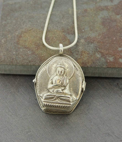 Jewelry,New Items,Buddha,Men's Jewelry Buddha Gau Locket ga031