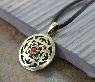 Jewelry,New Items Default 2 Sided Brass mandala Pendant jp271
