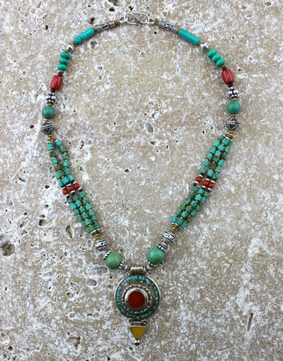 Jewelry,New Items Default Exquisitely Simple Tibetan Necklace ttneck20