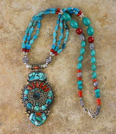 Jewelry,New Items Default Limited Edition Karma Dolma Necklace jn077