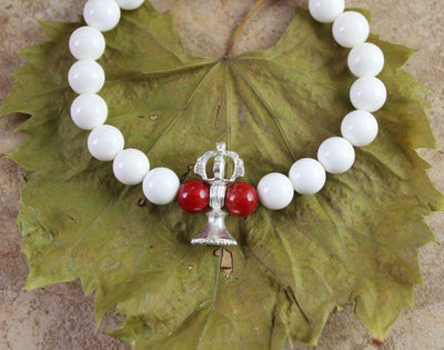 Jewelry,New Items Default Shell and Bell Wrist mala wm162