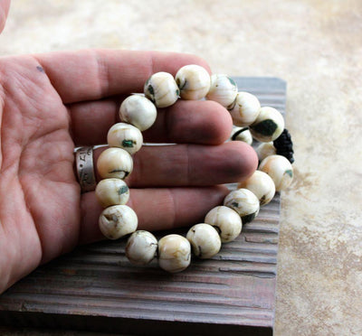 Jewelry,New Items,Gifts,Men's Jewelry Default Outstanding Naga Shell Men's Wrist Mala wm0117