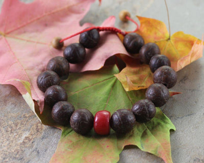 Jewelry,New Items,Gifts,Under 35 Dollars,Men's Jewelry Default Men's Large Bodhi Seed Bracelet wm144
