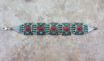 Jewelry,One of a Kind,New Items,Tibetan Style,Mother's Day Default One of a Kind Tibetan Bracelet jb048
